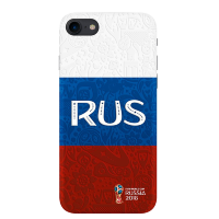 Чехол Deppa FIFA для iPhone 7/8 Flag Russia